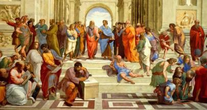 L'escola-d'Atenes-Rafael-Aristòtil-Platón